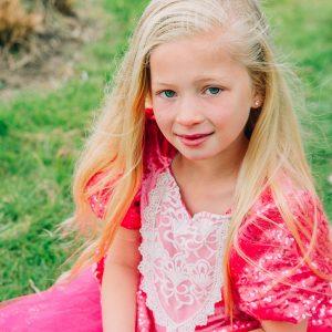cinderella roze jurk